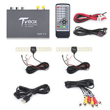 1080P DVB-T2 Car Mobile Digital TV Box Receiver 2 Antenna Tuner Remote Control