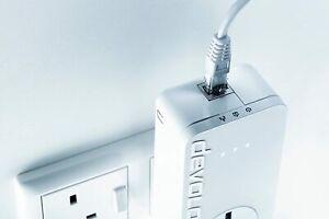 1x ( single unit ) Devolo dLAN 650+ ***650 Mbps Powerline Adapter MT 2546