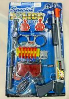 (1) All In 1 Police Officer Role Play Set Toy Toys Uniform Accessories Kids Kit