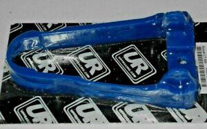 SUZUKI 500 500R QUAD RACER QUADZILLA SWINGARM PROTECTOR,CHAIN GUIDE,BUFFER BLUE