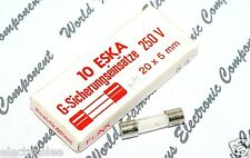 1pcs - ESKA  (F) 8A 250V 5x20mm Sand-Filled Fuse - For Audio