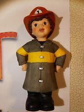 Rare Authentic Sarah's Attic - Gang - 9576 Firefighter Miguel - Edition 1E-0462