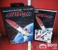 Gley Lancer Game Cartridge SEGA Mega Drive Japan Japanese Boxed + Manual NTSC-J