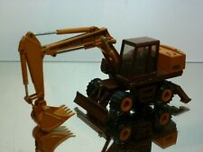 CONRAD 2893 CASE 888 POCLAIN WHEEL EXCAVATOR - BROWN 1:50 - VERY GOOD CONDITION