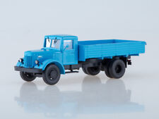 Scale model truck 1/43 Maz-200 onboard (blue)