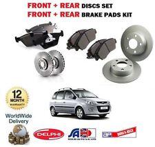 für Hyundai Matrix 1.5 CRDi 1.6 2007- > front + Bremsscheiben SET