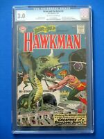 Brave and the Bold #34 - CGC 3.0 - Huge Key - 1st Silver Age Hawkman / Hawkgirl