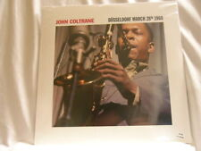 JOHN COLTRANE Dusseldorf Stan Getz Oscar Peterson limited CLEAR vinyl SEALED LP