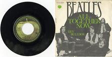 """""""THE BEATLES"""" All together now / Hey bulldog (SP 45 tours original français) M"""