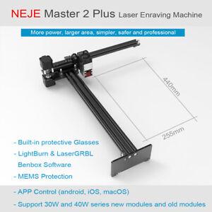 NEJE Master 2s Plus 30W CNC Laser Engraving cutting milling Machine engraver