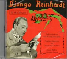 Django Reinhardt - At The Movies CD (Stardust Memories/Sweet & Lowdown/Lancombe)