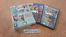 LES SIMS 2 + LES SIMS 2 BON VOYAGE / EDITION LIMITÉE /  PC DVD-ROM PAL
