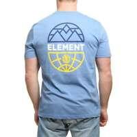 Element Men's Terra Backprint T-Shirt Niagara Heather Large