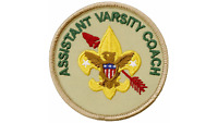 Boy Scouts of America Official OA Varsity Coach Patch Emblem Order of the Arrow
