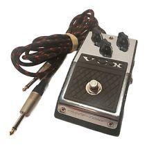 Vox Valve-Tone V810 Vintage Overdrive Guitar Effects Pedal + Cable & 9V Battery