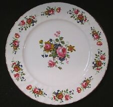 """Towle Old Chelsea Rose Three (3) Dinner Plates 10 3/4"""""""