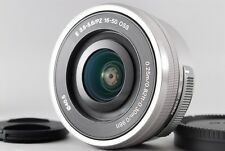MINT & NO USED Sony E PZ 16-50mm f3.5-5.6 OSS Silver SELP1650 From JAPAN #0069