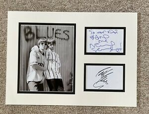 Oasis Noel & Liam Gallagher = Autographed Signed Display Beckett authentication