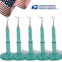 5× Cordless Dental Gutta Percha Obturation System Endodontic Heated Pen + 2 Tips