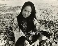 CHINESE BORN TINA CHEN ORIGINAL VINTAGE PORTRAIT STILL ALICE'S RESTAURANT