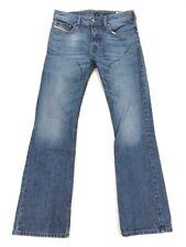 Diesel Men's Zatiny Regular Bootcut Distressed Jeans • 0842C • 27x30