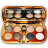 8 Colour Diamond Glitter Eyeshadow Eye Shadow Palette Makeup Cosmetic Brush Set