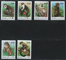 Rep.Guinea Souv.Sht.&Stamps -Monkeys MNH 1998
