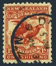 New Zealand 96,used.Michel 88. 1890.Kea,Kaka-Hawk-billed parrots