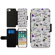 Disney Evil Queen Cruel & Beautiful Hard Wallet Flip Phone Case Cover