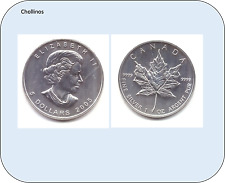 5 DOLARES DE PLATA AÑO 2005 CANADA    ( MB11410 )