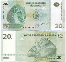CONGO 20 FRANCS 2003 P 94A G&D JA - Z REPLACEMENT AUNC ABOUT UNC