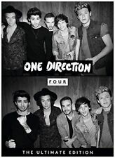 ONE DIRECTION-FOUR-JAPAN CD+BOOK BONUS TRACK Ltd/Ed F30