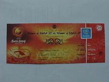 Portugal Football International Fixture Tickets & Stubs