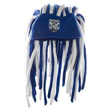 Canterbury Bulldogs NRL Dreadlock Dreadlocks Hat Cap Beanie Game Day Party Gift