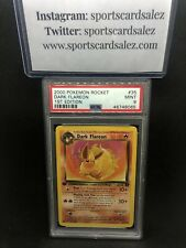 2000 Pokemon Rocket 1st Edition #35 Dark Flareon PSA 9 Mint