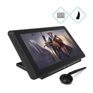 Huion KAMVAS 13 Graphics Drawing Pen Tablet Tilt Support Battery-free Pen +Stand