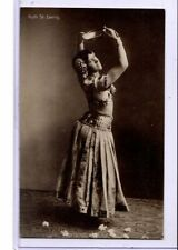 Real Photo Postcard RPPC - Ruth St. Denis (1879 -1968) Dancer
