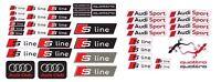 Audi Sport S-line QUATTRO S6 S8 Car Stickers A4 A5 Decals S3 S4 Sport A6 A7 /47