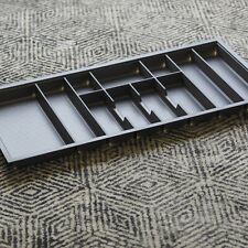 1000mm Charcoal Cutlery Tray for Grass Scala Drawer