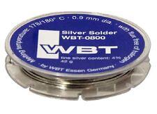 WBT Silver solder 42 g. 0.9 mm dia., WBT-0800 (1pcs)