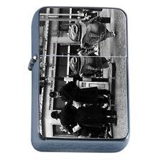 Vintage Alien Abduction D9 Flip Top Oil Lighter Wind Resistant Flame