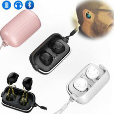Wireless Bluetooth 5.0 Earbuds Noise Reduction Stereo Headphones for iOS Android