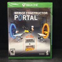 Bridge Constructor Portal (Microsoft Xbox One) BRAND NEW / In Stock Region Free