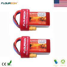 2X 3S 11.1V 1500mAh 35C LiPo Battery XT60 for RC Car Truck Airplane Drone Hobby
