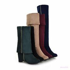 Kniehohe Freizeit Stiefel und Stiefeletten für Damen