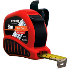 Fisco 8m Brickmate Builders Brick & Block Mate Tape Measure 8 Metre Metric BM8M