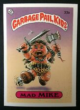 Mad Mike 33a UK Garbage Pail Kids Series 1(1985)Vintage~Topps ~ NMT/MINT