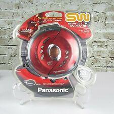 Panasonic Shockwave Water Resistant Portable CD Player Red SL-SW940P-R NIP