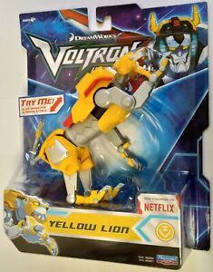 Voltron Basic Action Figure Yellow Lion 13cm