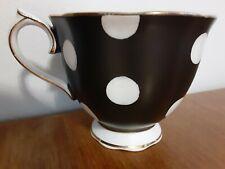 Royal Albert Black White Polka Dot Tea Cup Only